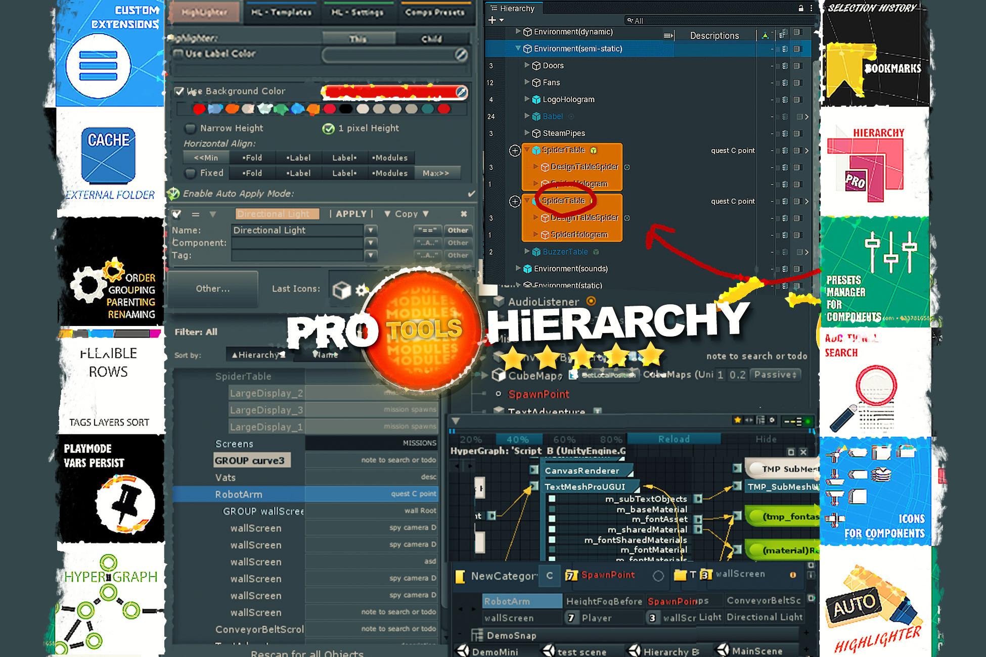 Hierarchy PRO - Multi Tools v2019.3p11