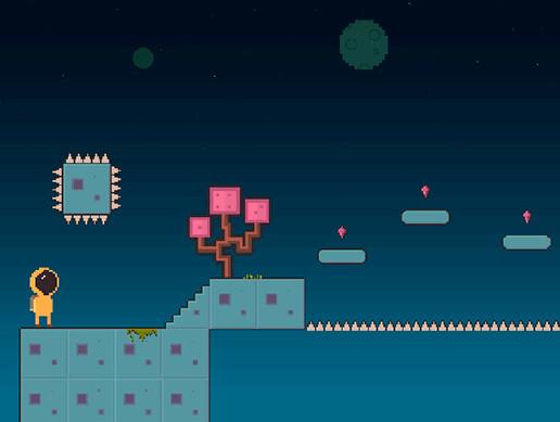 Free Pixel Space Platform Pack