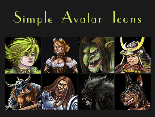 Simple Avatar Icons