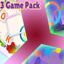 3 Game Pack - Word Maker, Balloon Dart, Color Balls