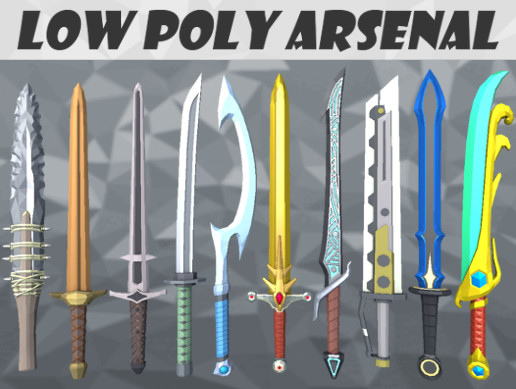 Low Poly Arsenal - Collection