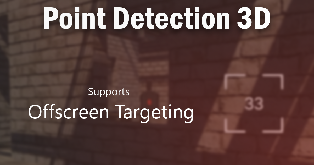 Point Detection 3D