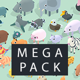 Quirky Series - Animals Mega Pack