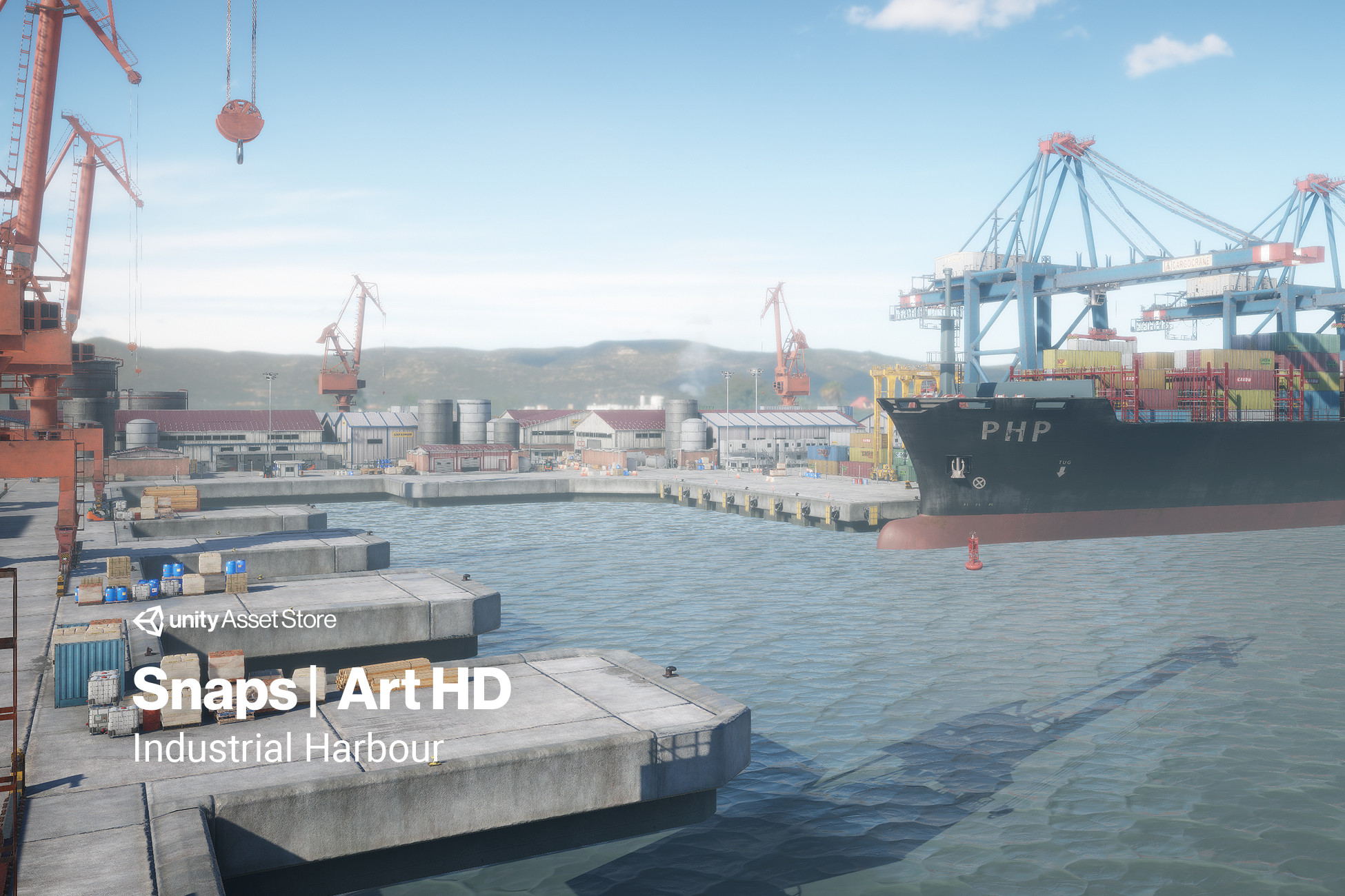 Snaps Art HD | Industrial Harbour