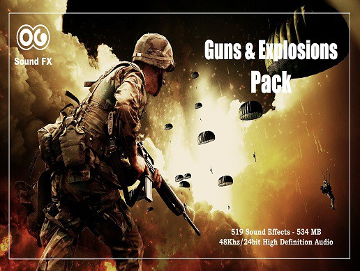 Guns and Explosions SFX Pack (From Unity 5.3.0)