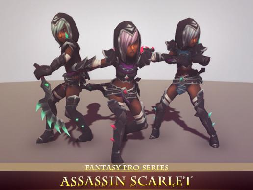 Assassin Scarlet
