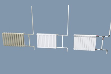 Radiators with Modular Pipes