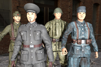 Soldiers Pack WW2 characters
