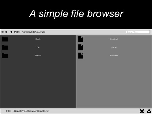 Simple File Browser