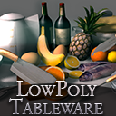 Tableware Low-poly