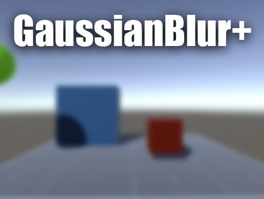 GaussianBlur+