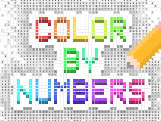 Color By Numbers Game