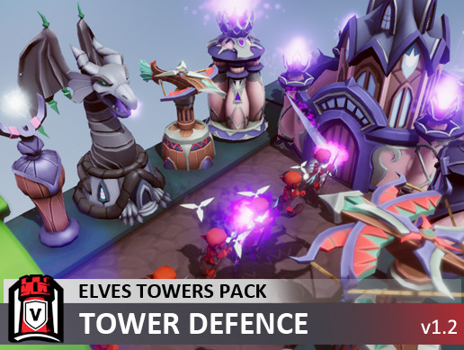 Elves Towers Pack