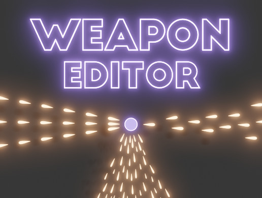 Topdown Weapon Editor