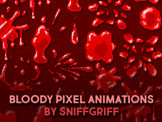 Bloody Pixel Animations!