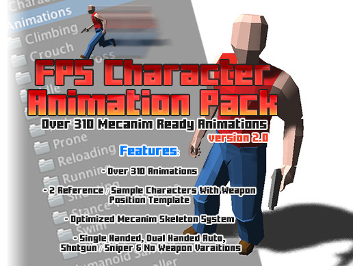 FPS Character Animation Pack