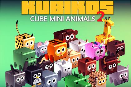 KUBIKOS - Animated Cube Mini Animals 2