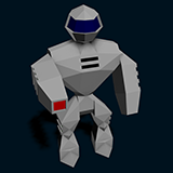 Robot JR-1 (animated) + mod1 & mod2