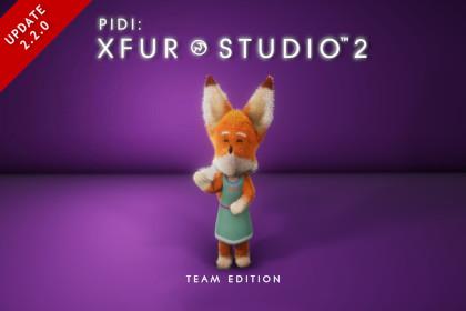 PIDI : XFur Studio 2 - Team Edition