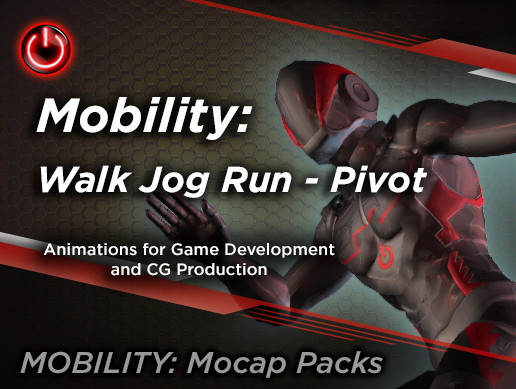 MOBILITY: Walk Jog Run - Pivot Animation