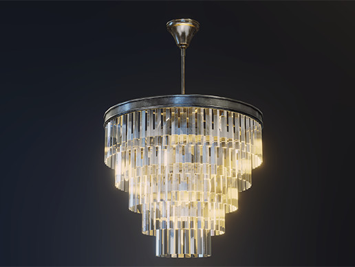 LUXURY Classic Chandelier col106