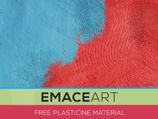 Free Plasticine PBR Material Substance Texture