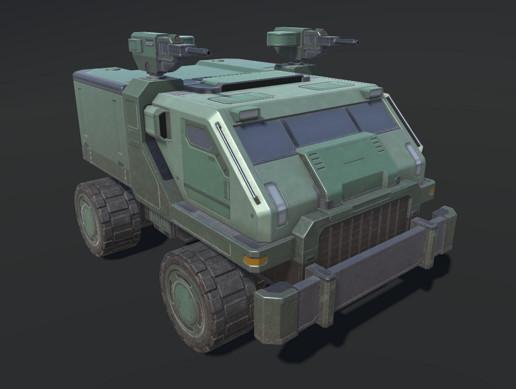 Sci-Fi Battle Vehicle