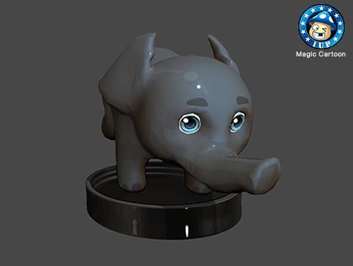 Magic Cartoon - Elephant