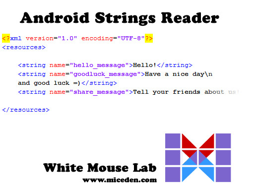 Android Strings Reader (Easy Translation)