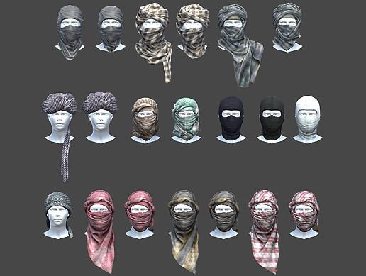 20 Terrorist Mask Pack