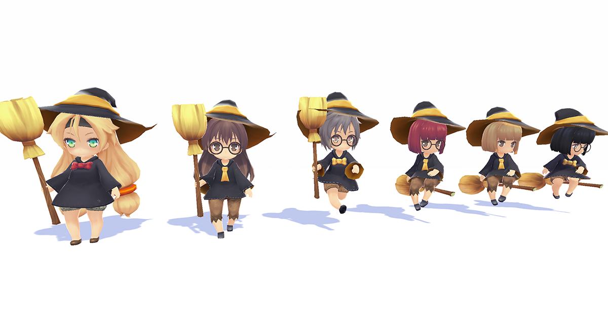 Novice Witch - SD Unity-chan Haon Custom 3.0