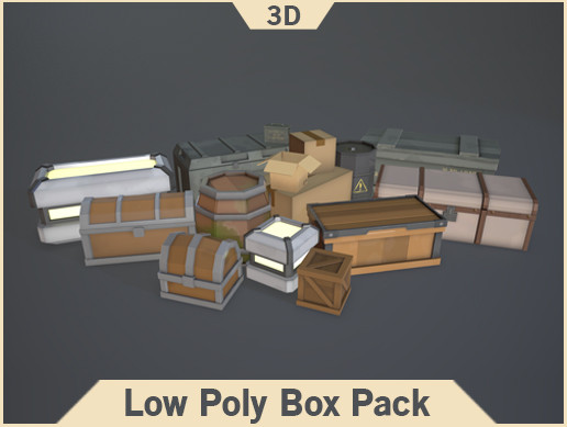 Low Poly Box Pack