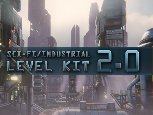 پکیج یونیتی SciFi Industrial Level Kit 2.0