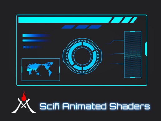 Scifi Animated Shaders