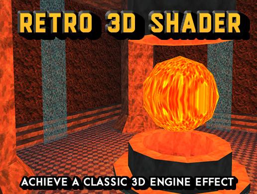 Retro 3D Shader - Asset Store