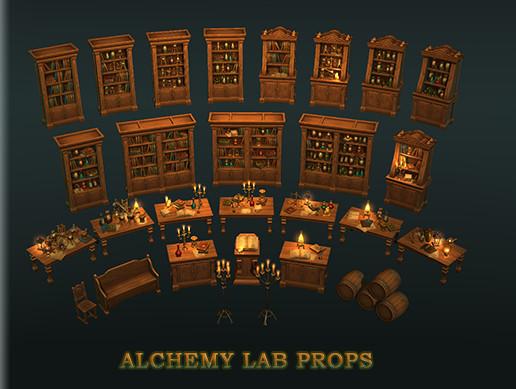 alchemy lab props asset store