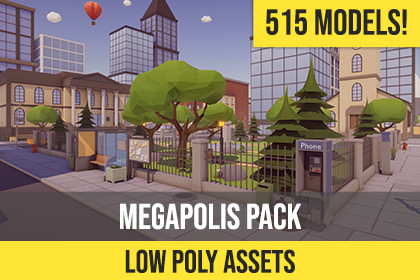 Low Poly Megapolis