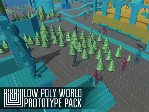 LOW POLY WORLD - PROTOTYPE PACK
