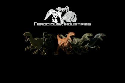 Free PBR Velociraptors
