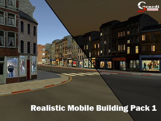 Realistic Mobile Building Pack 1