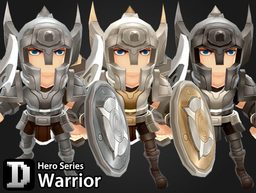 Hero Series - Warrior