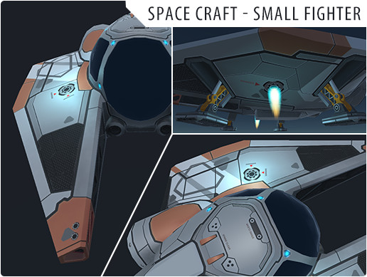 Space Craft - Small Fighter