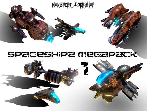 SpaceShipZ MegaPack 1