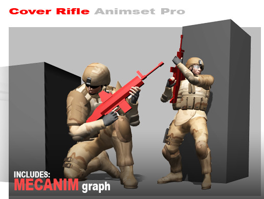 Cover Rifle Animset Pro