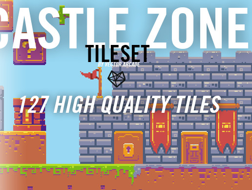 Castle Zone Tileset