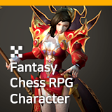 Fantasy Chess RPG Character - Volva