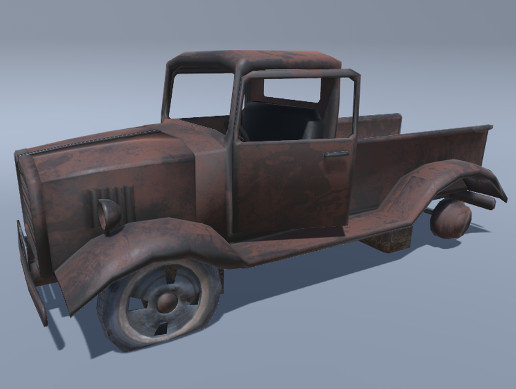 Old Wreck Truck