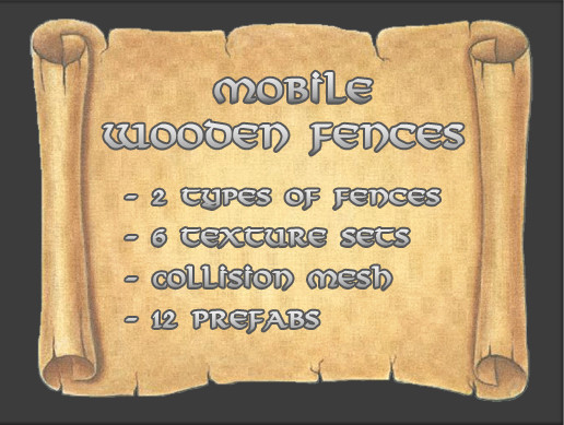 Mobile Wooden Fences