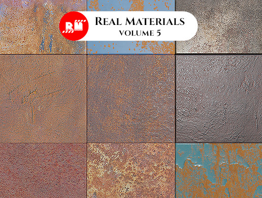Real Materials vol.5 - Paint and Rust