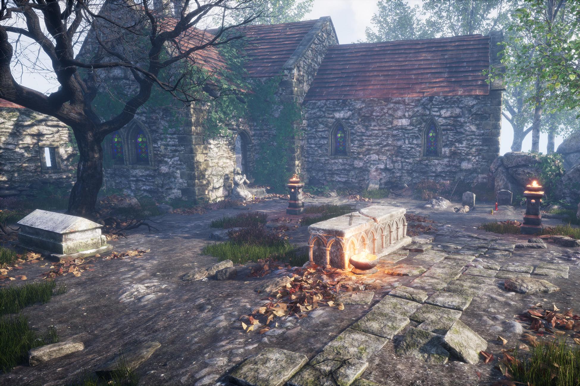 PBR Graveyard and Nature Set 2.0